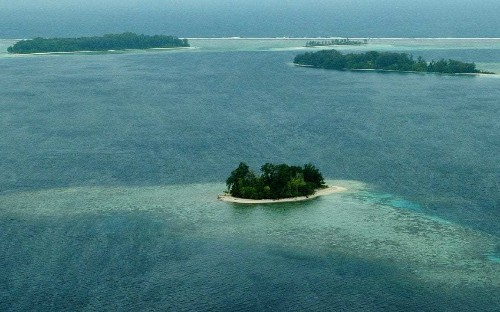 Disappearance of five islands in the Pacific blamed on climate change