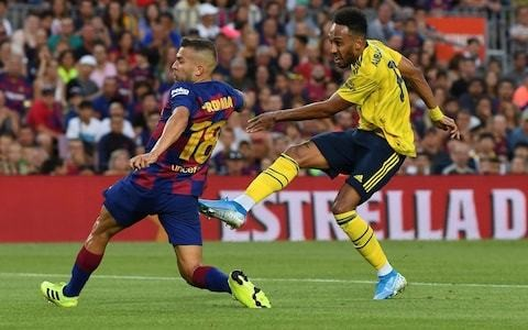Barcelona consider move for Arsenal forward Pierre-Emerick Aubameyang