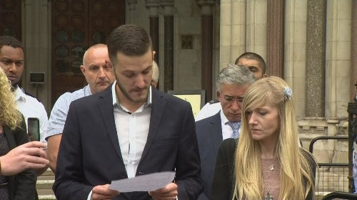 'We had a chance and we were not allowed': Charlie Gard's parents blame hospital as they end legal fight to save baby's life
