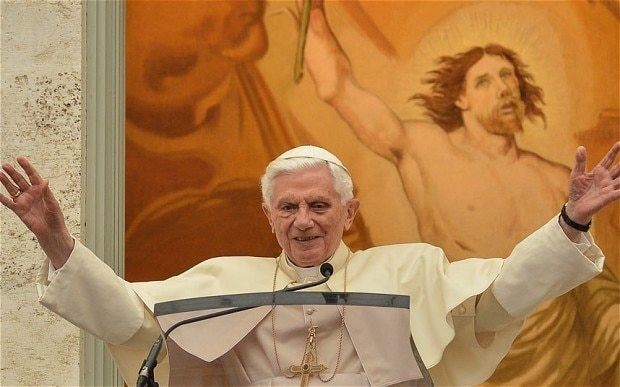 Pope Benedict resigned 'because God told me to do it'