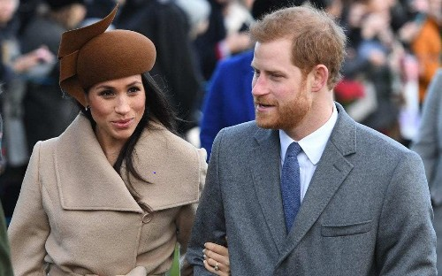 Prince Harry and Meghan Markle 'take economy flight to Nice for New Year celebrations'