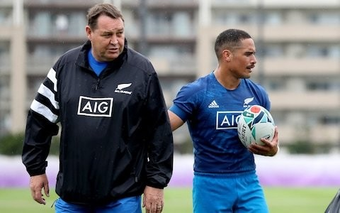 New Zealand's Steve Hansen warns Joe Schmidt his side will be bringing new tricks to quarter-final clash