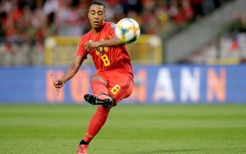 Leicester leading race to sign £40m Youri Tielemans