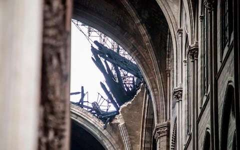 Letters: Notre-Dame's forest of roof beams had qualities concrete can't supply