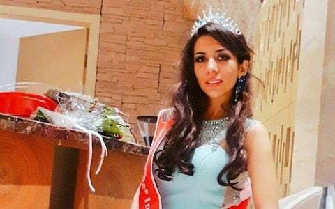 Iranian beauty queen pleads for asylum in the Philippines