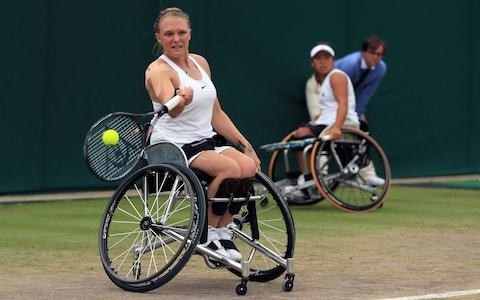 Jordanne Whiley: Serena Williams inspired my tennis return after childbirth