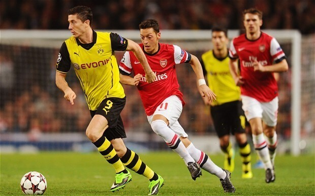 Borussia Dortmund reveal limit of Arsenal's revival in Champions League clash