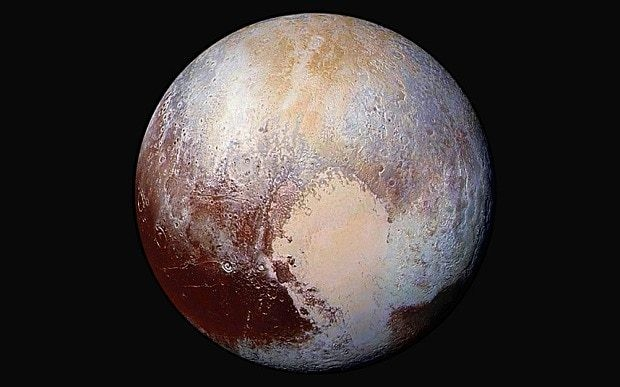 Nasa releases incredible close-up colour pictures of Pluto