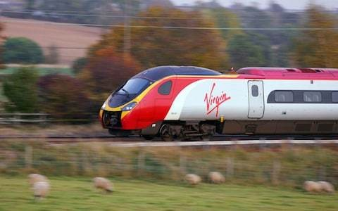 Standing on long rail journeys to be banned under Virgin Trains plan