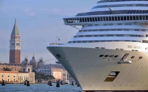 UN threatens to place Venice on endangered list unless Italy bans cruise ships