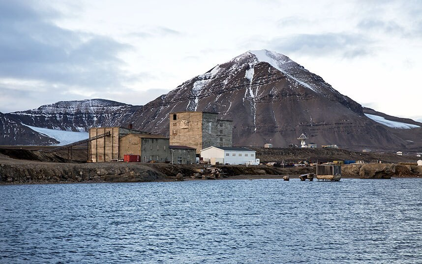 Research in the Arctic: The economy of the Svalbard archipelago, in pictures - Telegraph