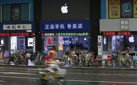 Fury as Apple pulls US news app Quartz from China 'over Hong Kong coverage'