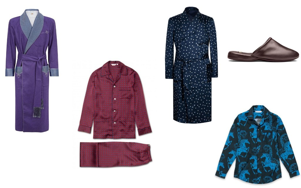 The best men's dressing gowns and pyjamas for hunkering down in over the festive period