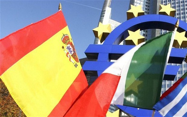 North-South divide continues as industrial production falls in Italy and Spain