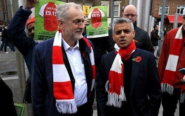 Sadiq Khan attacks Jeremy Corbyn hours after winning London Mayor election