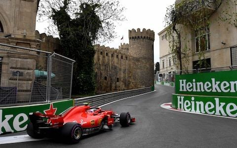 Azerbaijan Grand Prix 2019: What time does the race start, what TV channel is it on and what are the odds?
