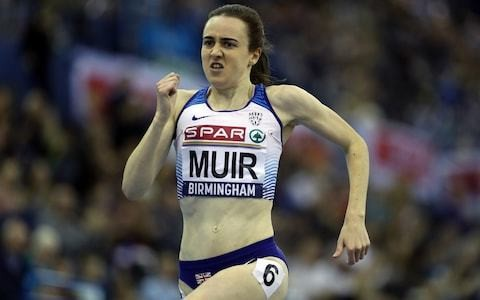 Laura Muir backed to lead world championships medal hopes
