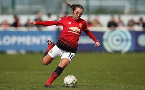 Manchester United captain Katie Zelem seeking revenge over City in second derby