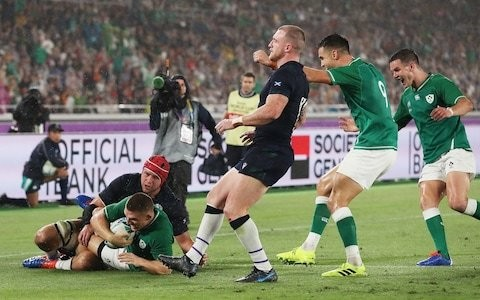 Match verdict: Ireland roll back the years to get their Rugby World Cup up and running