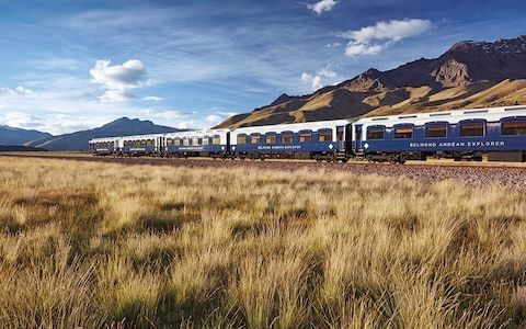 Tracking condors on the most luxurious train in South America