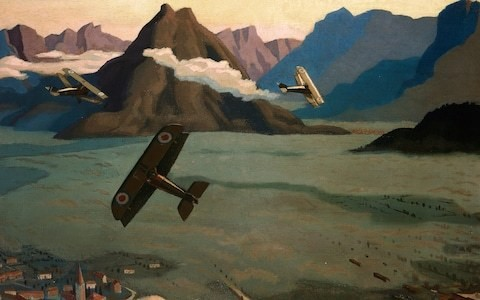 Paintings in which you can really smell terror and death: War in the Sunshine, Estorick Collection, review