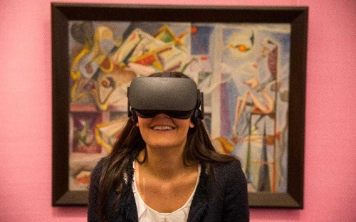 Sotheby's launches virtual reality surrealist paintings