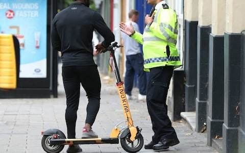 Warning over e-scooters after police figures reveal thousands of road incidents