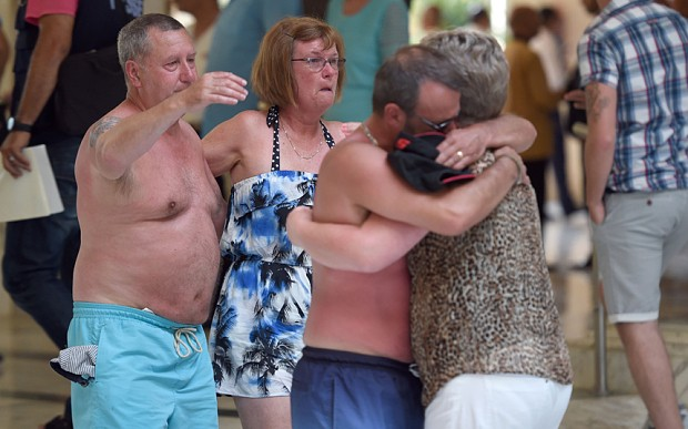 Most of 38 killed in beach massacre were British, says Tunisian Prime Minister