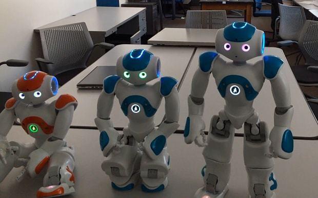 Robot passes self-awareness test