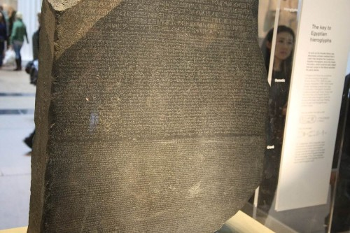 Whatever tomorrow holds, the Rosetta Stone is part of all our yesterdays
