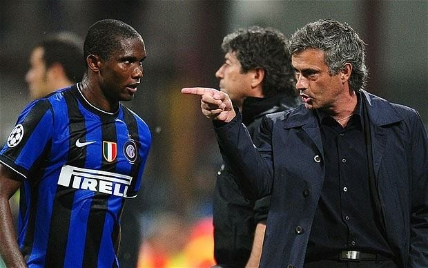 Samuel Eto'o reveals he vowed never to play under manager Jose Mourinho after 'tense' time at Inter Milan
