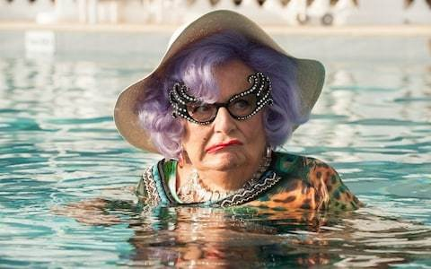 Comedy festival drops name of Dame Edna creator Barry Humphries following transgender row