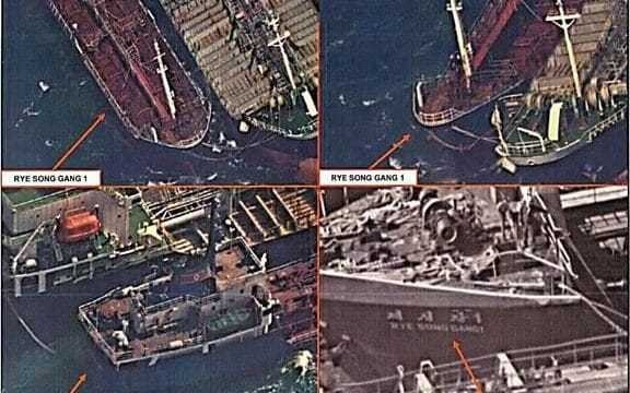 Chinese ships spotted by satellites 'selling oil to North Korea' 30 times since October, despite sanctions