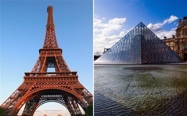 Islamist plot to blow up Eiffel Tower, Louvre and nuclear power plant foiled, say French police