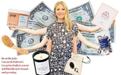 The more we laugh, the richer Gwyneth Paltrow gets