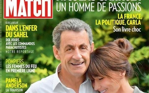 Nicolas Sarkozy sparks ridicule in France after magazine cover shows him towering over his taller wife
