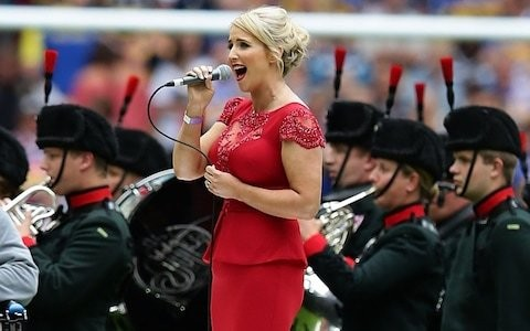 Singer Lizzie Jones awarded MBE for her work in improving safety for rugby league players