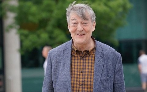 Stephen Fry reveals he has lost over five stone in four months