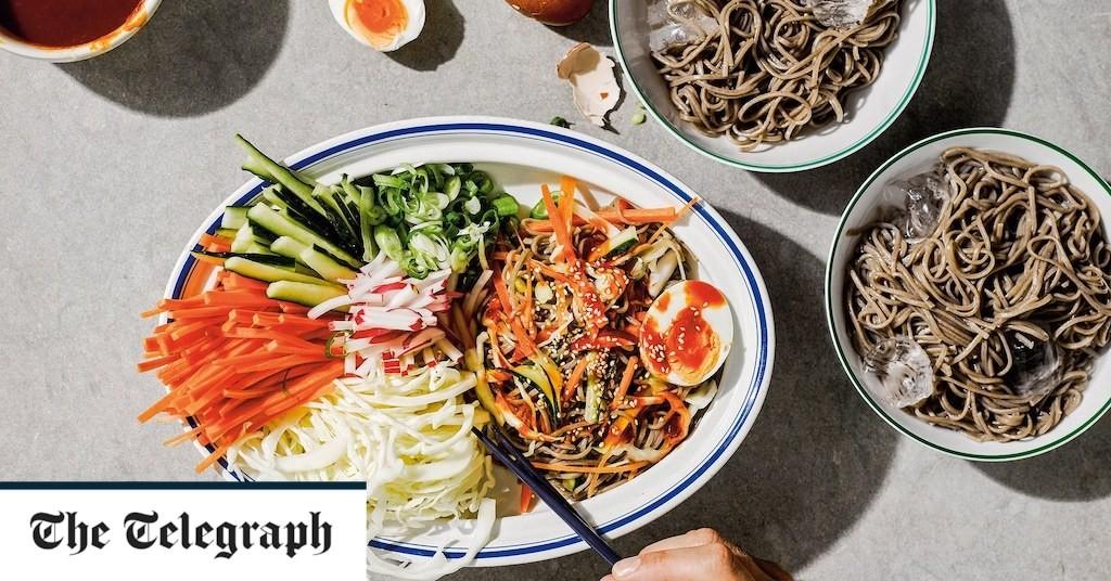 Spicy cold Korean noodles recipe