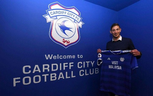 'I'm scared': Audio reveals message from Cardiff City star Emiliano Sala before suspected plane crash in English Channel