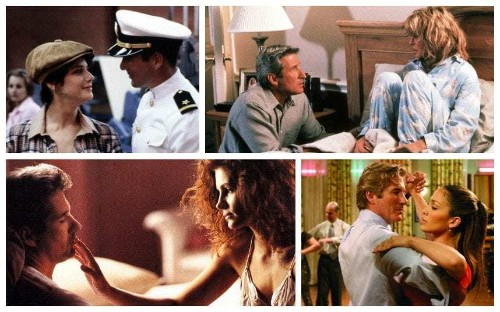 Richard Gere and his leading ladies in pictures