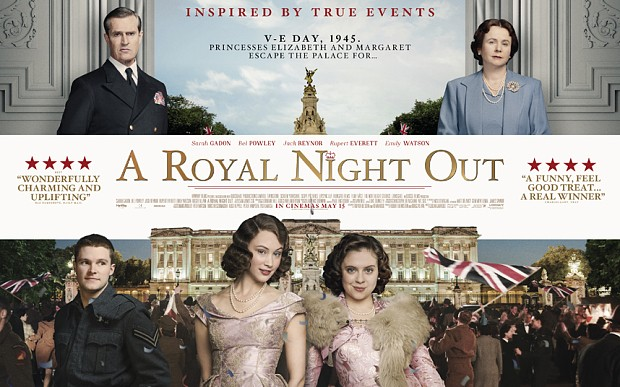 A Royal Night Out: first poster released