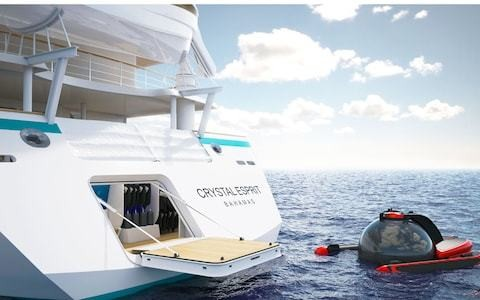 Submarines and underwater weddings: cruising for the mega-rich has arrived
