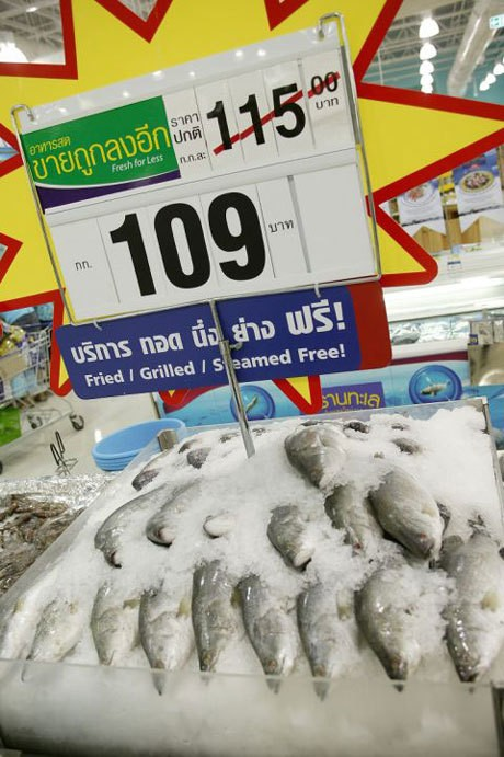 Tesco goes head-to-head with Thailand's wet markets