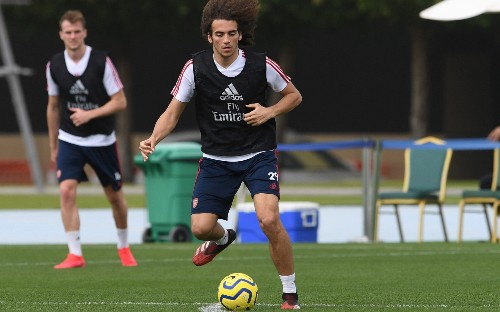Exclusive: Matteo Guendouzi absence due to heated row with Mikel Arteta in Dubai