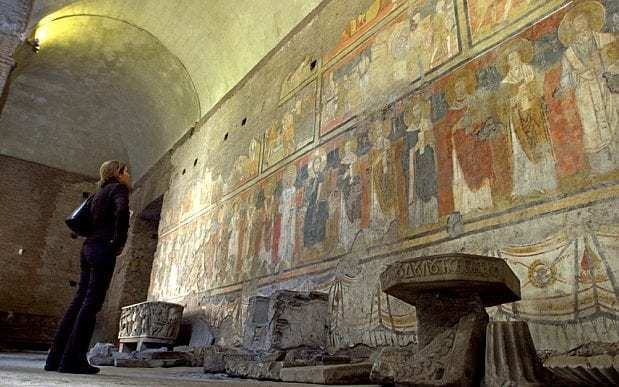 'Sistine Chapel of the Early Middle Ages' buried for a millenium by an earthquake reopens