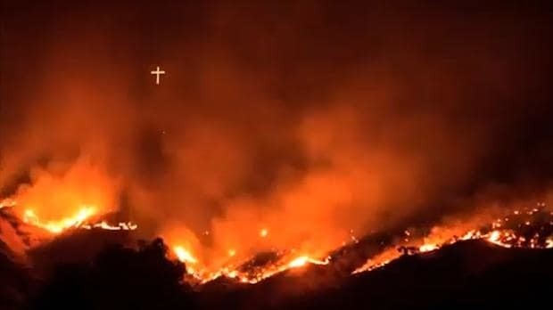 Time-lapse video of raging Idaho wildfire