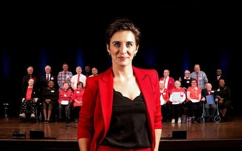 Government should fund 'dementia choirs', says Line of Duty star Vicky McClure