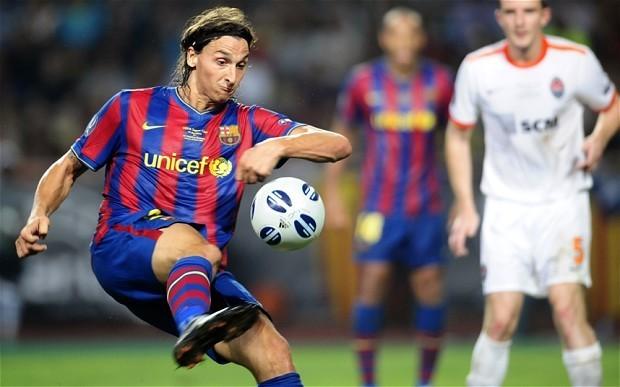 "Zlatan Ibrahimovic blasts former manager Pep Guardiola, calling ex-Barcelona coach ""a spineless coward"""