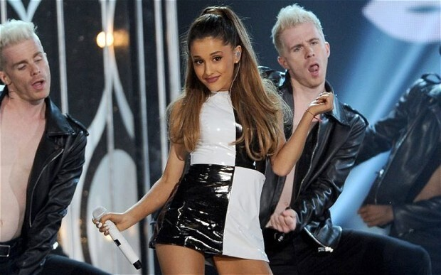 Ariana Grande claims first streaming Top 40 number one